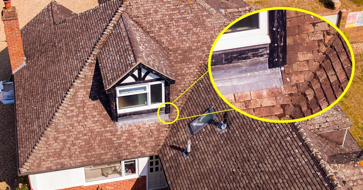 Drone inspections of room